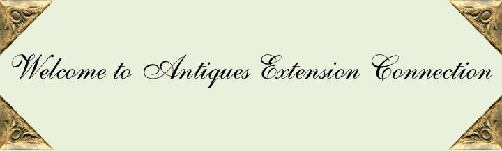 Welcome to Antiques Extension Connection